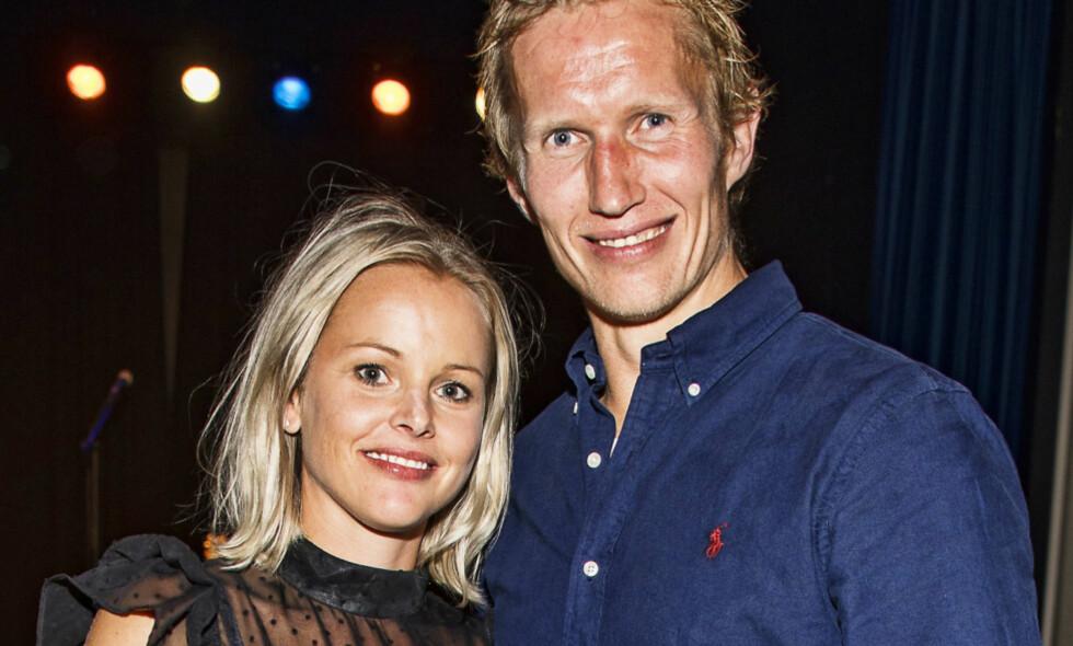 GÅR HVER TIL SITT: Frank Løke og kona Anette skilles etter 15 år. Foto: Tor Lindseth
