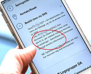 image: Betalte 690 kroner for SMS-er fra legen i fjor