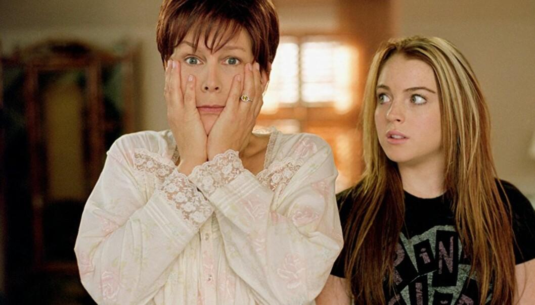 «FREAKY FRIDAY»: Vi lurer på hva slags strofer som kommer ut av Annas munn når hun våkner opp i sin mor Katherines kropp! FOTO: Freaky Friday