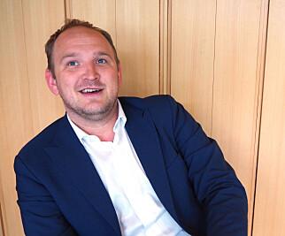 ØKOSTRATEGI: Mat- og landbruksminister Jon Georg Dale lover en ny strategi for økologisk landbruk. Foto: Elisabeth Dalseg