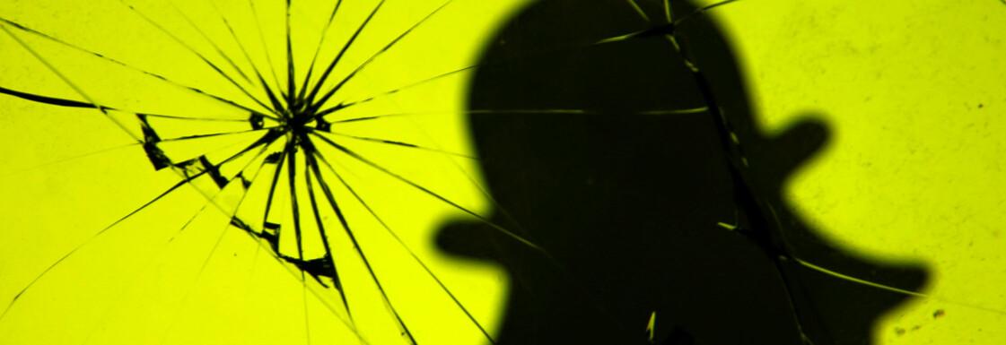 BLIR VÆRENDE: Det nye Snapchat-designet er kommet for å bli. FOTO: Scanpix