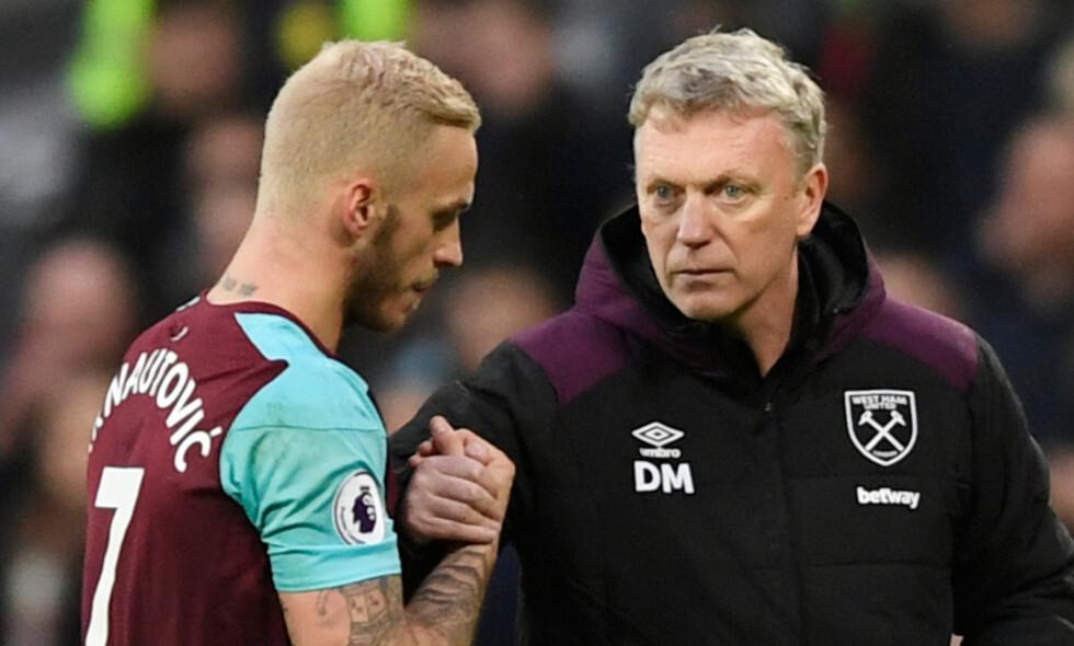 TRØBBEL: West Ham skal ha unnlatt å opplyse om spillernes oppholdssteder ved tre anledninger i løpet av det siste året. Foto: Tony O'Brien / Reuters / NTB Scanpix