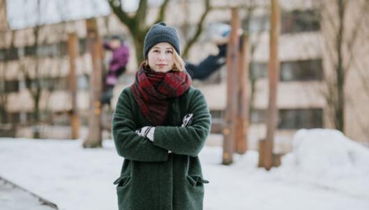 <strong>- BRANSJEN MÅ RYDDE OPP:</strong> Anja Bakken Riise, leder i Framtiden i våre hender, er bekymret for den totale mengden miljøgifter vi omgir oss med. Foto: Renate Madsen/Framtiden i våre hender