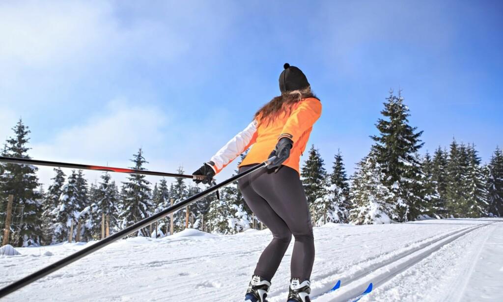 b32e0d2d LANGRENN: En skitur i helgen vil gjøre deg godt - på veldig mange måter.