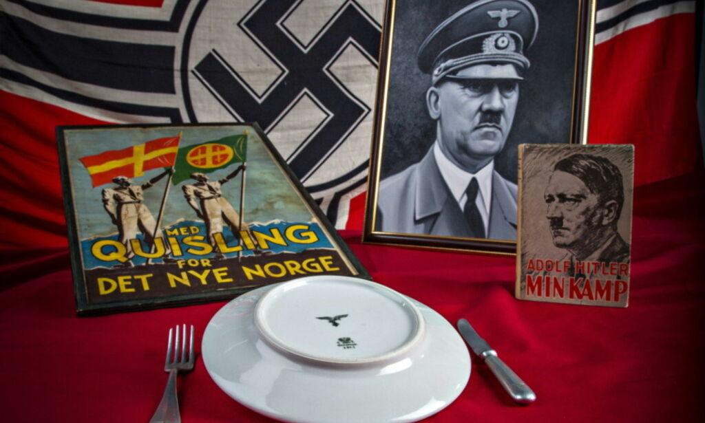 image: Disse nazitingene er forbudt å selge på QXL. Men på Finn.no omsettes de i stor stil
