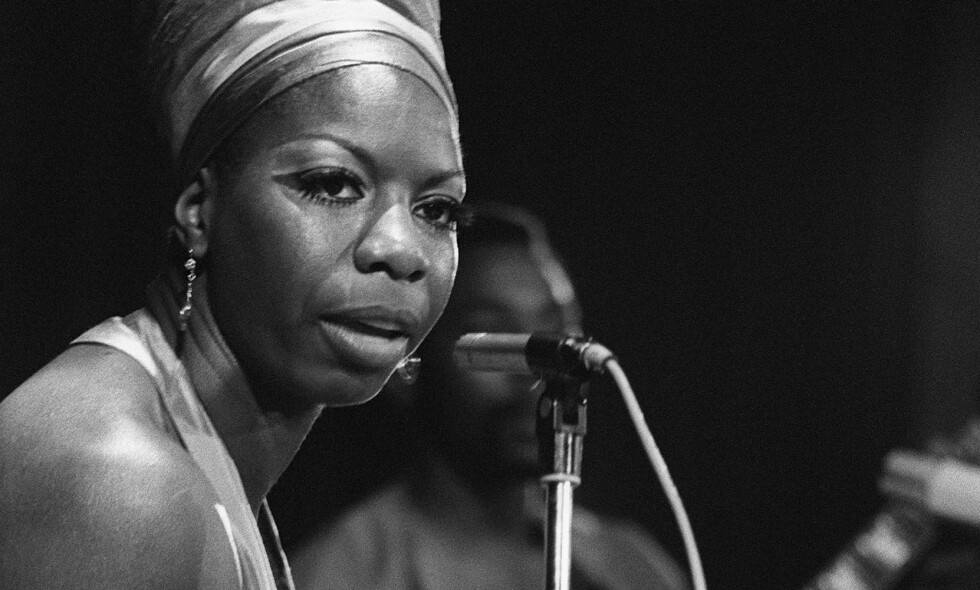 Nina Simone: på scenen i Algerie i 1969. Foto: NTB scanpix