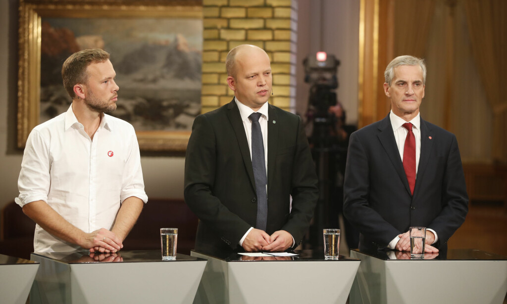 MÅLING: Til tross for at Senterpartiet fortsatt står sterkt, er oppslutningen om de rødgrønne partiene svært labre 39,8 prosent på en fersk meningsmåling. Foto: Lise Åserud / NTB scanpix