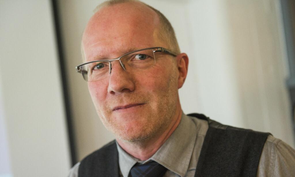 KRINGKASTINGSRÅDET: Arne Jensen, leder av Norsk Redaktørforening, mener Kringkastingsrådet bør avvikles i sin nåværende form. FOTO: NTB Scanpix
