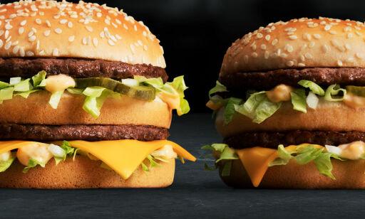 image: Professor advarer mot McDonalds nye monsterburgere: - Helsefarlig