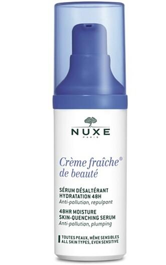HUDPLEIERENS FAVORITT: Serumet fra Crème Fraiche-serien er Prestegårds favoritt. Foto: NUXE