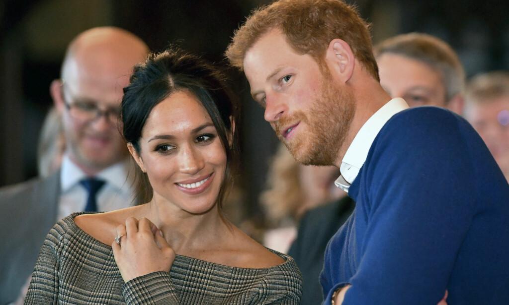 GIFTER SEG: Meghan Markle og prins Harry gifter seg om tre måneder. Foto: Ben Birchall / AP / NTB Scanpix
