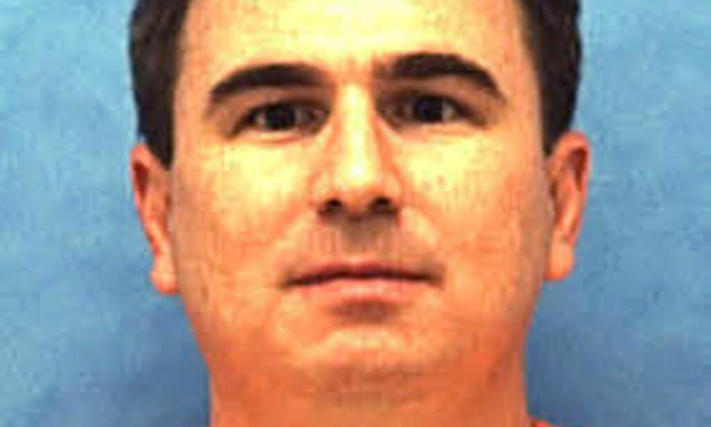 HENRETTET: Draps- og voldtektsdømte Eric Scott Branch ble henrettet i Florida. Foto: Florida Department of Law Enforcement via AP
