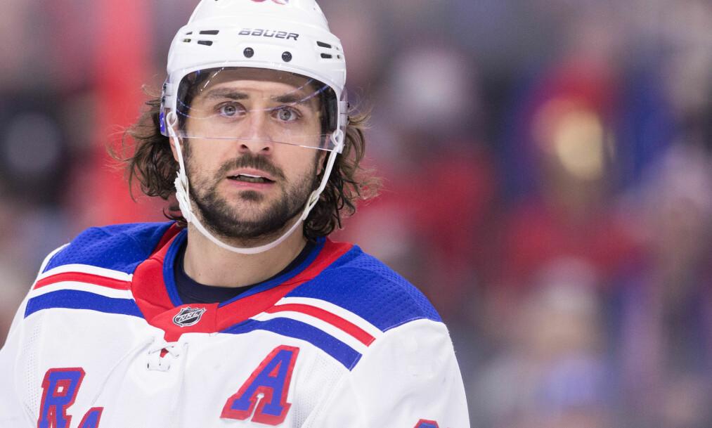 <strong>TAP:</strong> Mats Zuccarello og New York Rangers tapte mot Montreal Canadiens. Foto: Daniel Lea/CSM/REX/Shutterstock
