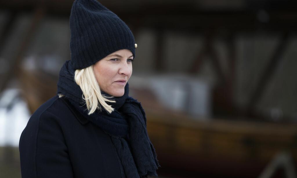 FREDRIKSTAD  20180215. Kronprinsesse Mette-Marit besøker Isegran i Fredrikstad  Foto: Berit Roald / NTB scanpix