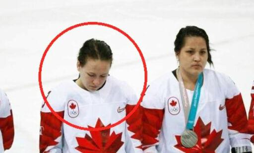 image: Slaktes for oppførsel da hun fikk sølv: - Skam deg