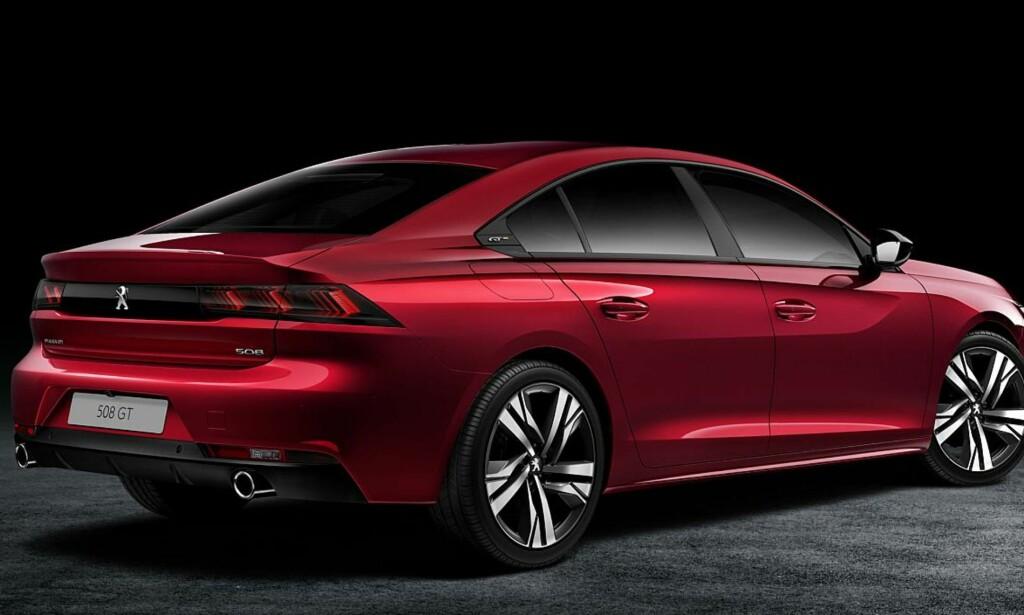SETT DET FØR: Peugeot satser på en form som vi mener å ha sett før. Foto: Produsenten