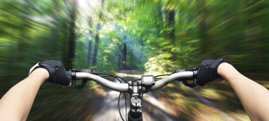 Fartsgale elsyklister trimmer syklene sine selv