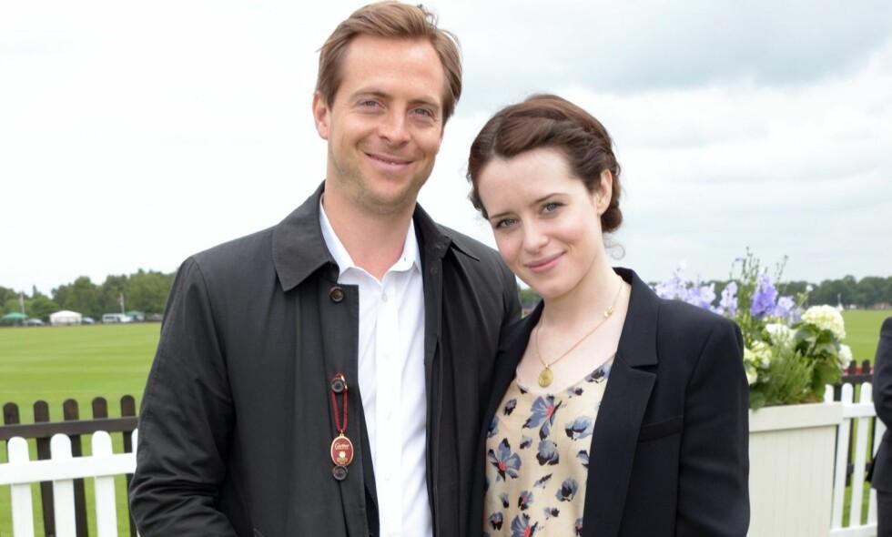 SKILSMISSE: Skuespillerparet Claire Foy og Stephen Campbell har skilt lag etter fire år som mann og kone. Foto: NTB Scanpix