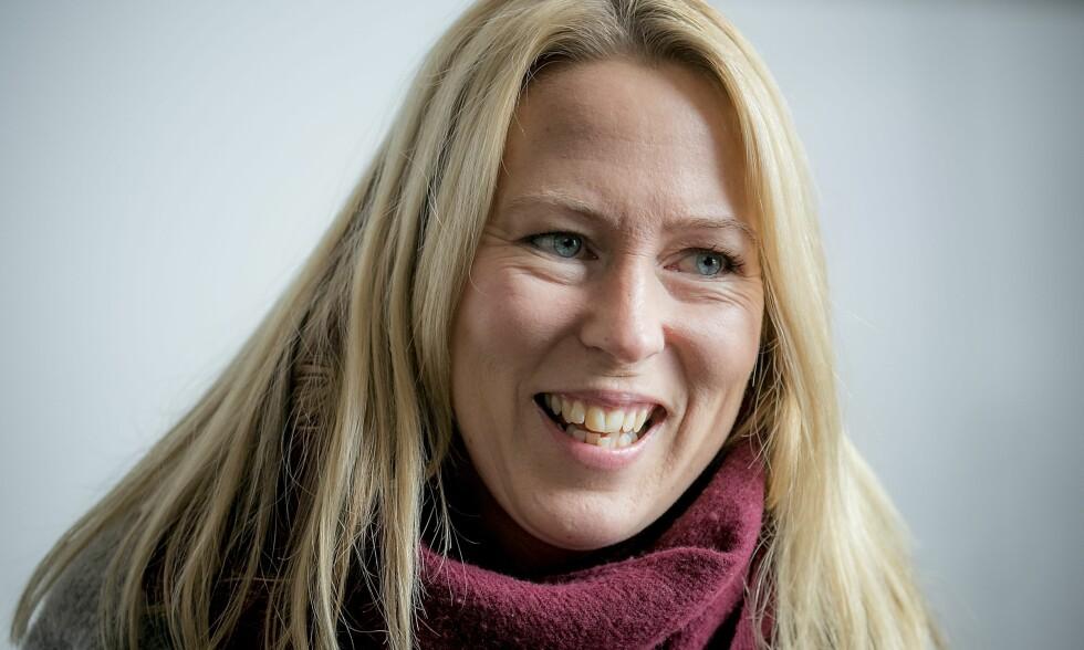 EUROSPORT-PROFIL: Anne Sturød har ledet Eurosports OL-sendinger fra Sør-Korea sammen med Carstein Skjelbreid. Nå går det mot slutten av mesterskapet. FOTO: BJØRN LANGSEM / DAGBLADET
