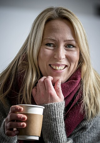 HAR KOST SEG PÅ JOBB: - Det har vært overraskende gøy, sier programleder Anne Sturød. FOTO: BJØRN LANGSEM / DAGBLADET