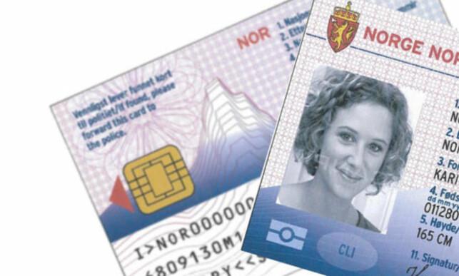 Kanskje kommer ID-kortet: Dette kortet skal gjøre reisen enklere - dersom det kommer.