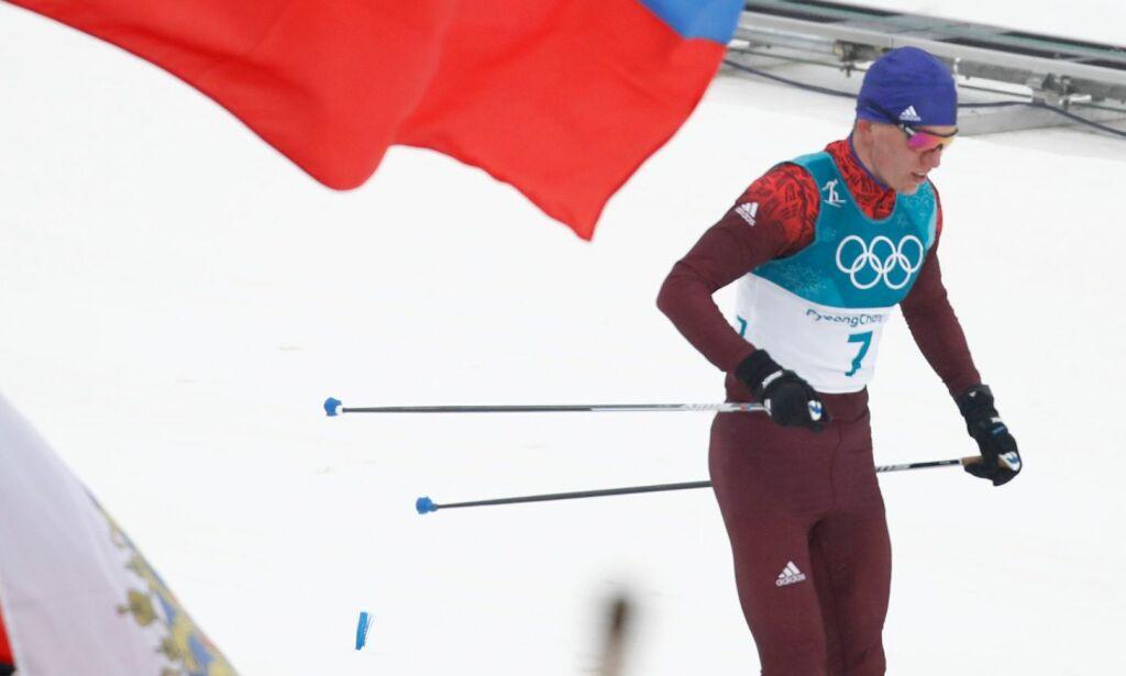 image: Mer enn ski: Her har Johannes fått en russer å slåss med