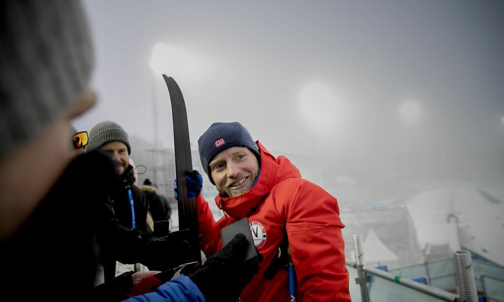 OL I 2022: :Jeg elsker jo dette livet her. Men det er en forutsetning at jeg fortsatt er i stand til å kjempe i toppen, sier Martin Johnsrud Sunby. Foto: Bjørn Langsem/DAGBLADET