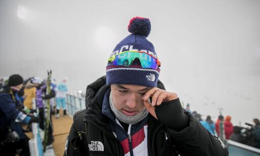 FERDIGSKREVET: OL på hjemmebane er over for Magnus Kim. Neste sesong vurderer han å representere Norge i stedet for Sør-Korea. Foto: Bjørn Langsem / Dagbladet