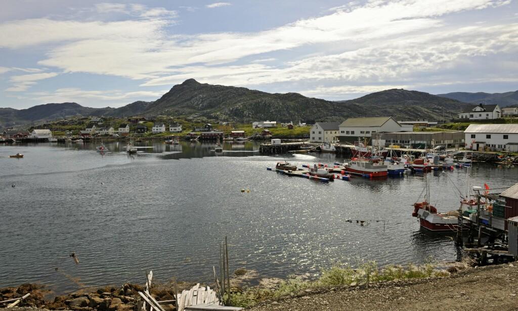 FISKEVÆR: Paret ble funnet døde i sin egen bolig i det lille fiskeværet Gjesvær i Nordkapp kommune. Foto: Samfoto / NTB Scanpix