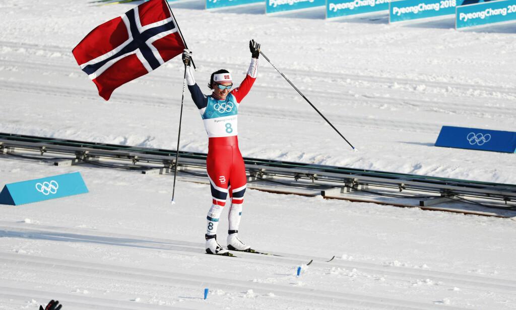 NÅ ER HUN STØRST AV ALLE: Marit Bjørgen (37). Foto: Bjørn Langsem/Dagbladet
