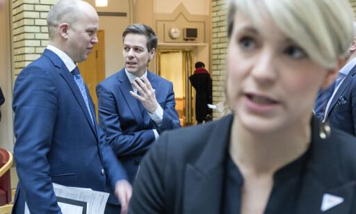 - VIKTIG: Kari Elisabeth Kaski (SV) mener ordningen i dag visker ut effekten av barnetrygd i mange kommuner. Foto: Gorm Kallestad / NTB scanpix