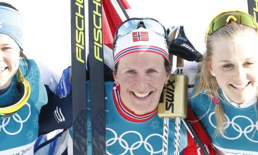 image: Kowalczyk, USA og finnene lovpriser Bjørgen. Russene måper: - Det er ikke til å tro