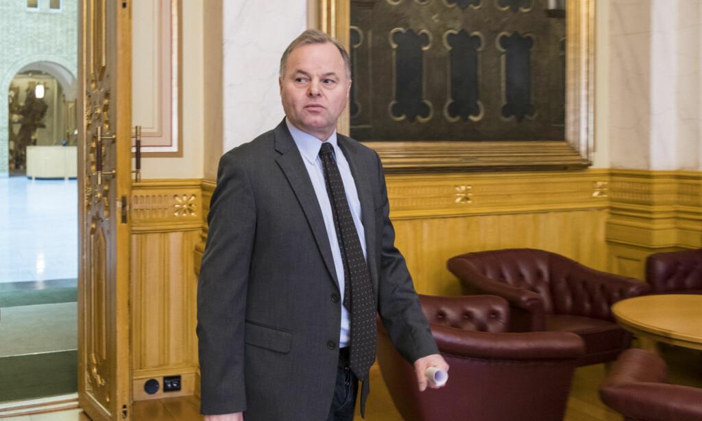 I TRØBBEL: Stortingspresident Olemic Thommesen (H). Foto: Vidar Ruud / NTB scanpix