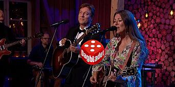 image: Tor og Claudia sto for kveldens beste duett