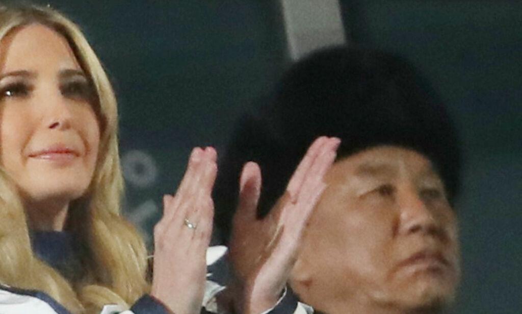 image: OL-stjernas stikk mot Ivanka Trump: - Hva gjør hun her?