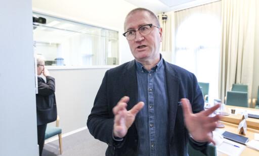 REFSER: Geir Jørgen Bekkevold mener det er trist at Kjell Ingolf Ropstad rådførte seg med Høyre før han gikk ut med utspillet om abort. Foto: Gorm Kallestad / NTB scanpix