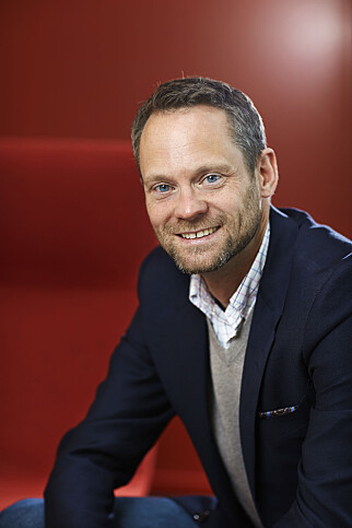 HURTIGMAT I UTVIKLING: Kategori- og innkjøpsdirektør Petter Knutsen i Reitan Convenience. Foto: Reitan Convenience