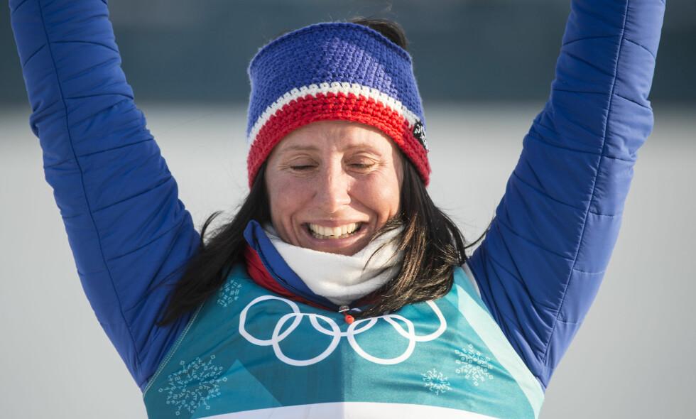 <b>TIDENES VINTEROLYMPIER: </b>Marit Bjørgen vant OL-gull på tremila på søndag. Foto: Hans Arne Vedlog