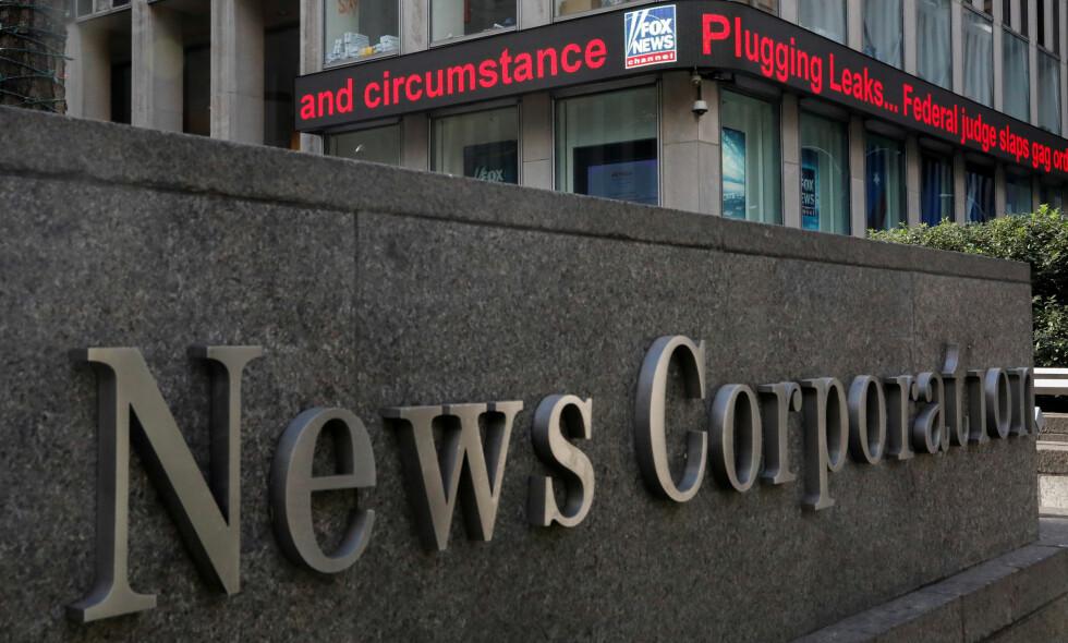 MANNSTUNGT: 94 av 100 toppledere i verdens største mediebedrifter er menn. Foto: NTB Scanpix