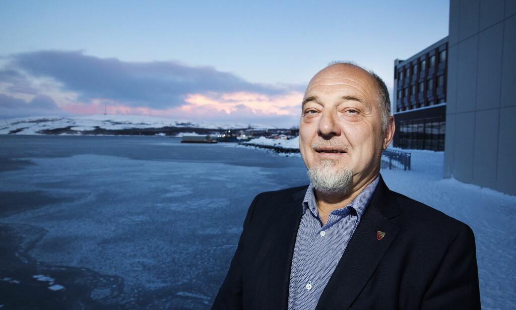 OVER ALLE GRENSER: Ordføreren i Sør-Varanger Rune Rafaelsen vil sprenge grensene for hva som tidligere har vært ansett som mulig i Kirkenes og omland. Foto: Henning Lillegård