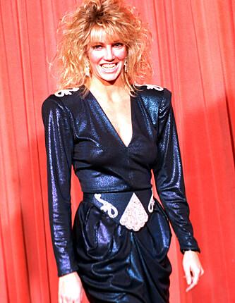 80-TALLS STJERNE: All suksessen Heather Locklear hadde på 80-tallet har satt sine spor. Her fra hennes glansperiode. Foto: NTB Scanpix