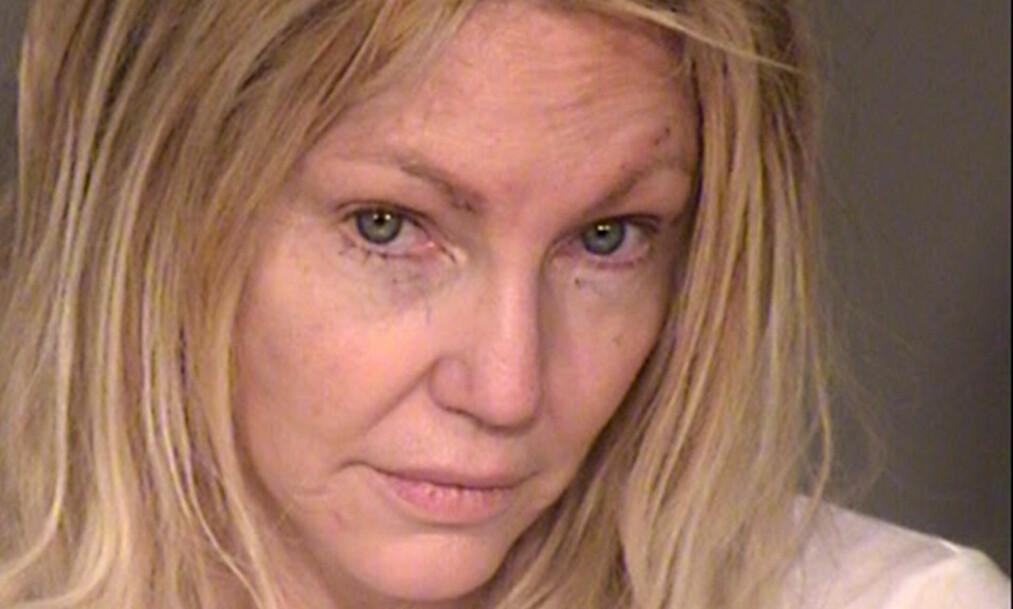 MISTET FATNINGEN: Heather Locklear slåss både mot kjæresten og politiet, da de kom for å roe ned situasjonen. Nå er hun i arresten. Foto: NTB Scanpix