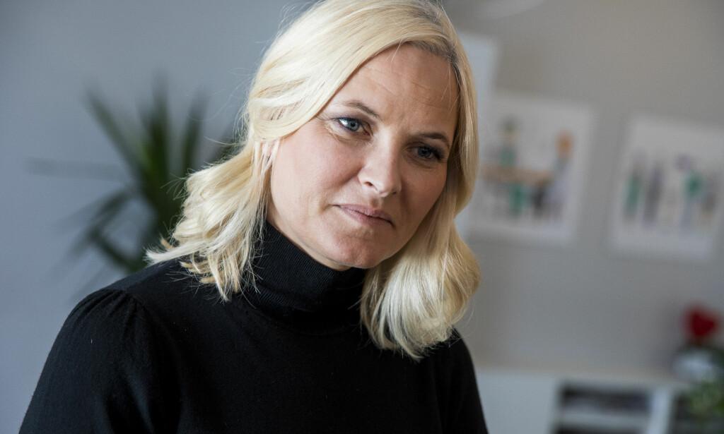 ENGASJERT: Mette-Marit besøkte i dag klinikken Sex og Samfunn i Oslo, som jobber med reproduktiv og seksuell helse blant ungdom. Foto: NTB Scanpix.