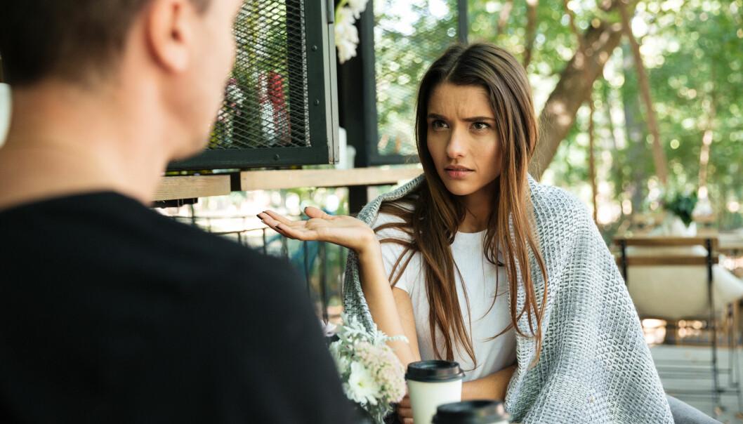 USUNT FORHOLD: Mangel på krangling eller fysisk og psykisk nærhet kan være tegn på at forholdet ikke er så godt. FOTO: NTB Scanpix