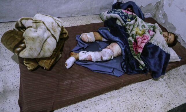 image: Hoff: - Enormt frustrerende at vi ikke får hjelpe de lidende sivile