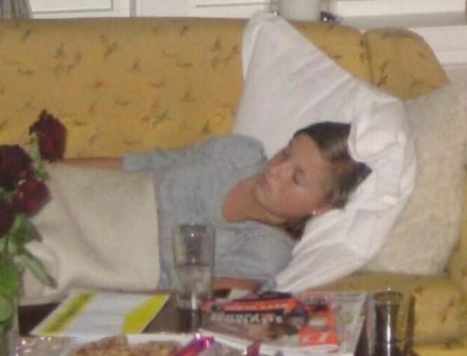 UTSLITT: Marie slet mye med trøtthet og kvalme i begynnelsen av sykdommen. FOTO: Privat