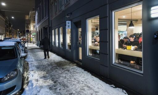 KOIE RAMEN: Suppekjøkkenet ligger i en sidegate til populære Torggata.