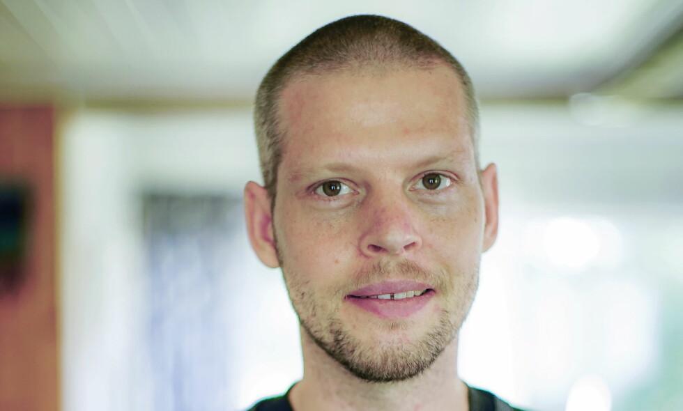 AGENTER: Joshua French hevder han og avdøde Tjostolv Moland var agenter. Foto: Marie Kvamme-Madsen