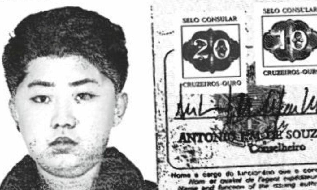 image: Brasiliansk pass viser bilde av Kim Jong-un