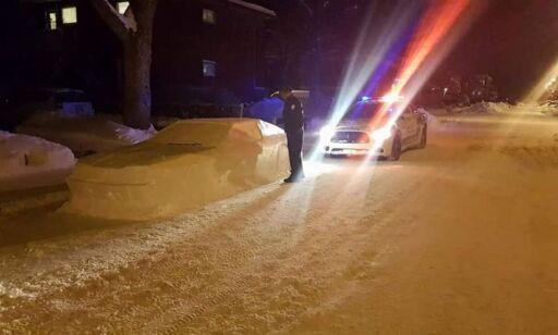 image: Denne «bilen» fikk politiet til å skrive ut «bot»